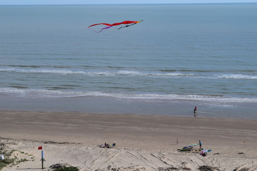Look what we saw off the balcony, a kite! You never know what you might see!