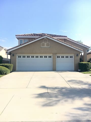 Comfy and clean room! - Rancho Cucamonga - Casa