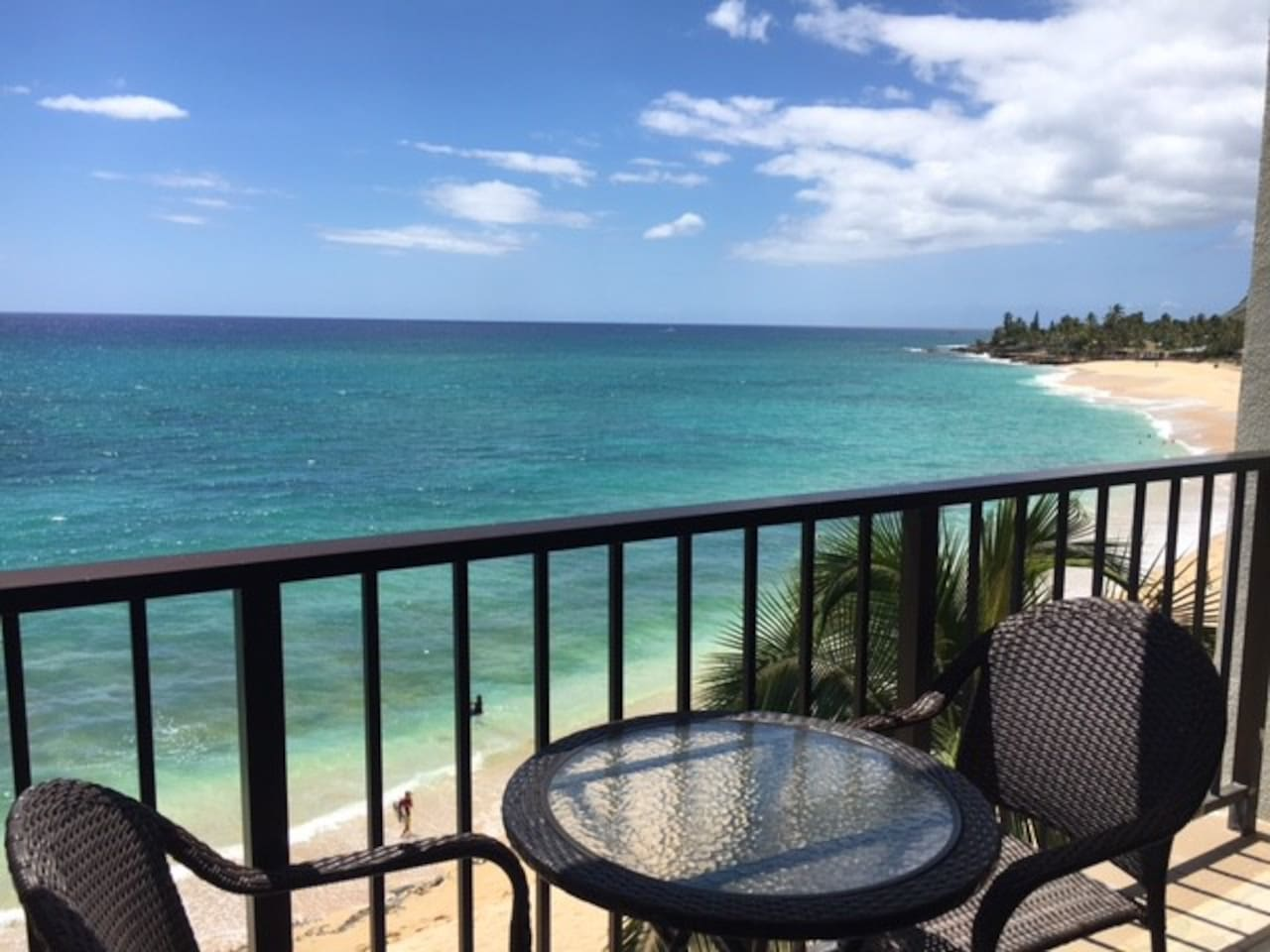 Million Dollar view from the lanai!