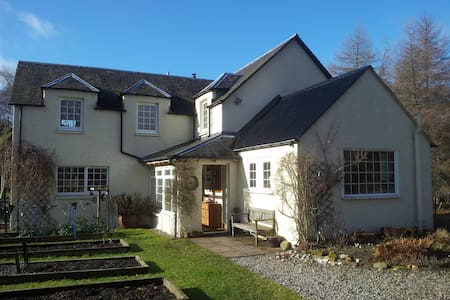 2 rooms by shore of Loch Rannoch - Kinloch Rannoch - Ev