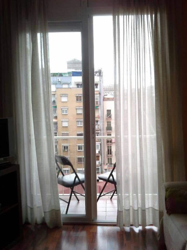 A Double Private room, in the center of Barcelona