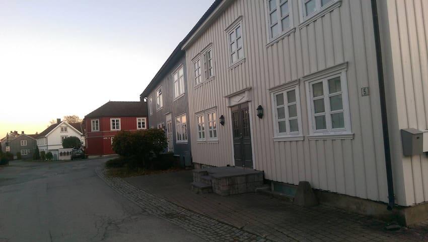 Gamlebyen i Verdal