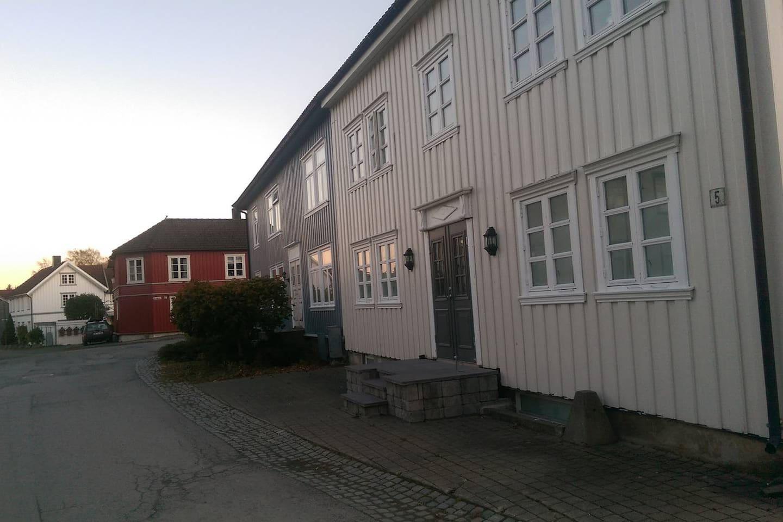 Norgata 1 og Gamle Storgate 5 , Verdal