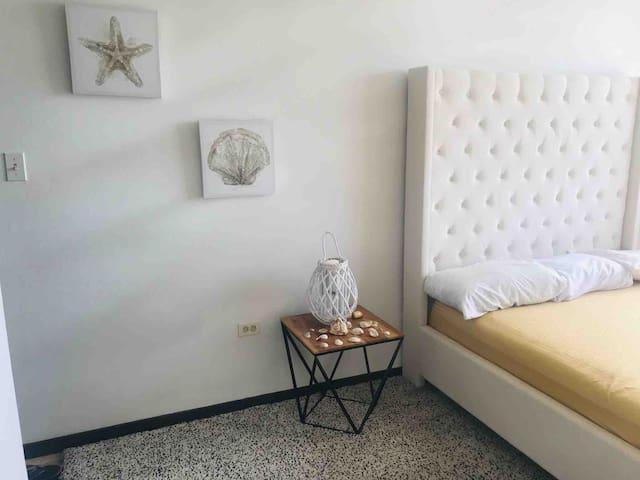 Master bedroom with ocean view!