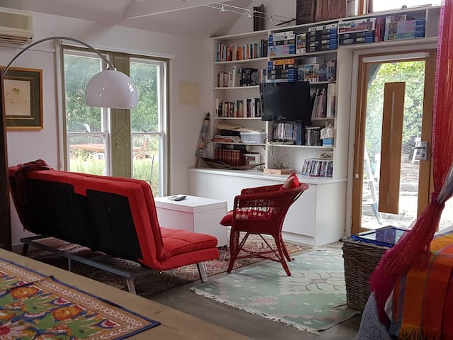 Relax with books, TV or jigsaw puzzles