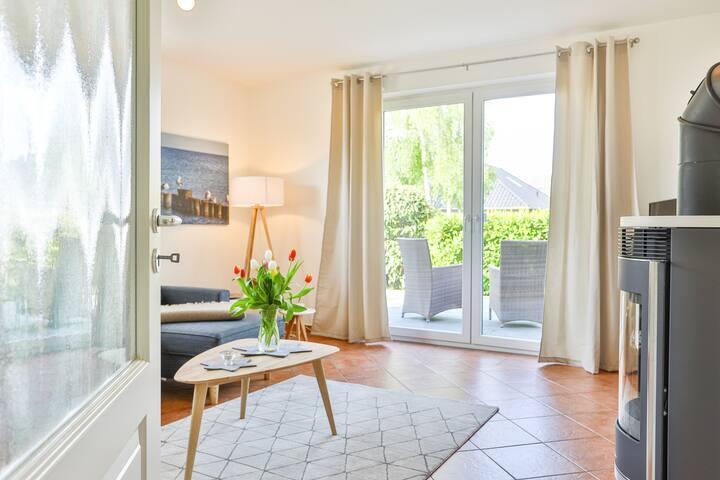 Haus Ostsee - Ferienwohnung Möwe