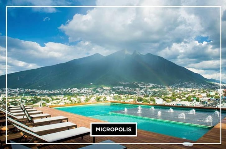 VIP New Luxury Apartment GOLD / Executive Service - Monterrey