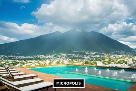 VIP New Luxury Apartment GOLD / Executive Service - Monterrey - Appartement