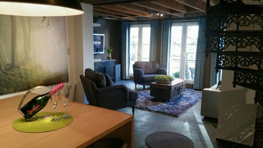Grand Loft in the heart of historic Antwerp - Antwerpen - Appartement