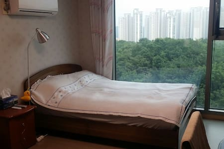 Two bedrooms which a view is good. - Goyang-si