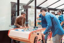 Enjoy the play table football