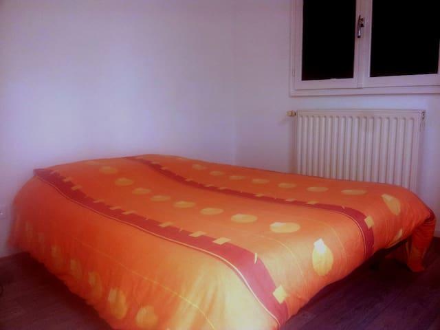 Chambre privative rénovée - Eguisheim - Casa