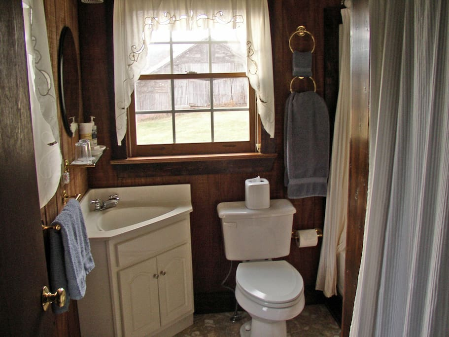 School House Bath with Tub and Shower