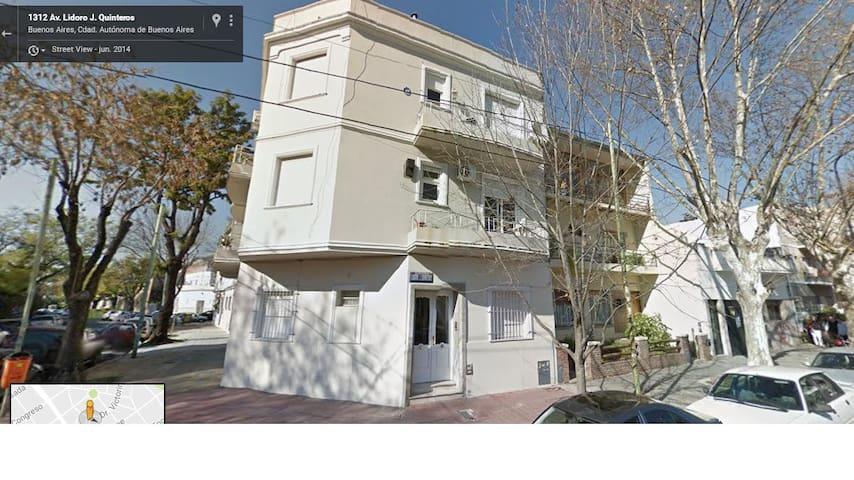 Departamento 2 ambientes en barrio river Belgrano - Buenos Aires - Appartement en résidence