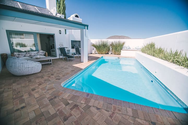 Vintage Dream: pool, braai & views of vineyards - Riebeeck Kasteel - Casa de campo