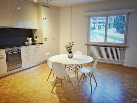 3 room flat/free parking/close to ETH&university