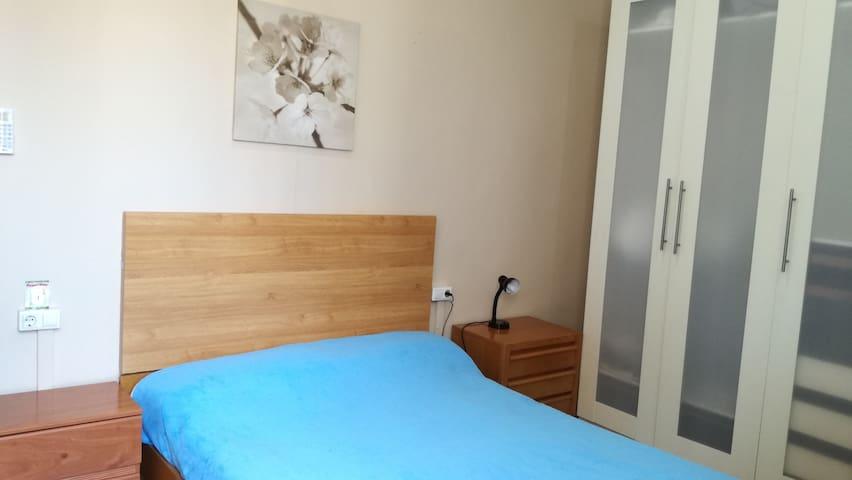 habitación 1 cama 2x2m