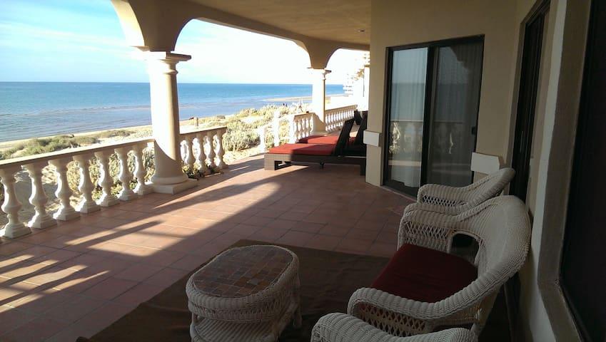 Beautiful, Serene, Family, Beach Front Home - Puerto Penasco - Hus