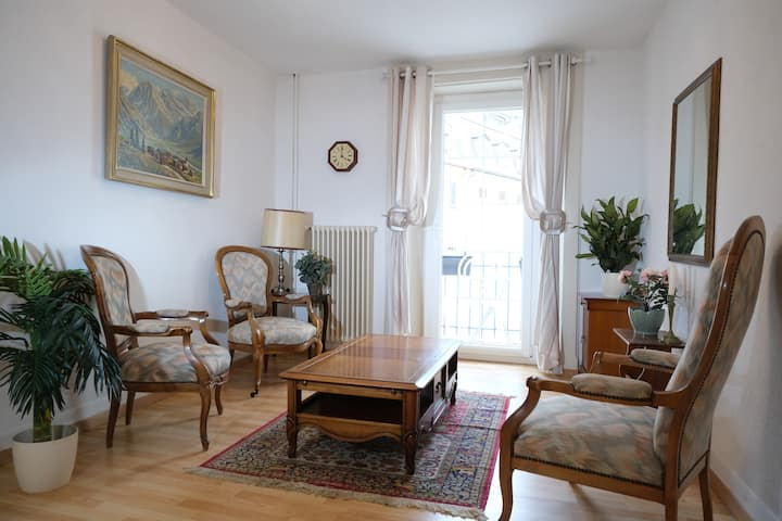 Premium Montreux City Center Apt. with Parking