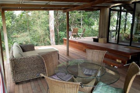 Poolside Cabin with 2 Person Spa Bath