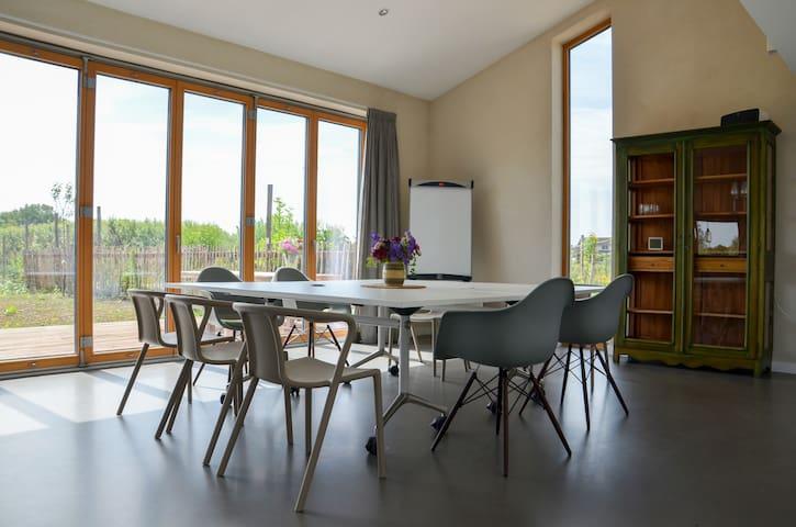 Design vergaderlocatie - Rijswijk - Nature lodge