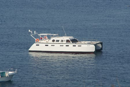cabine dans un catamaran - Valence - Tekne
