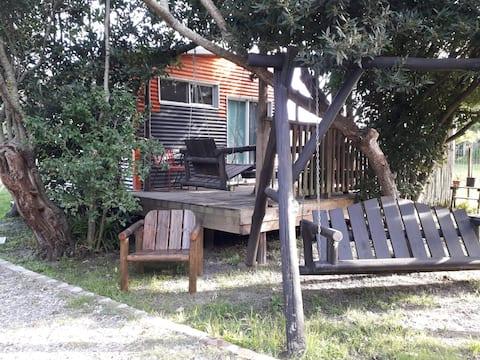 Cabaña rústica entre Montevideo y Punta del Este