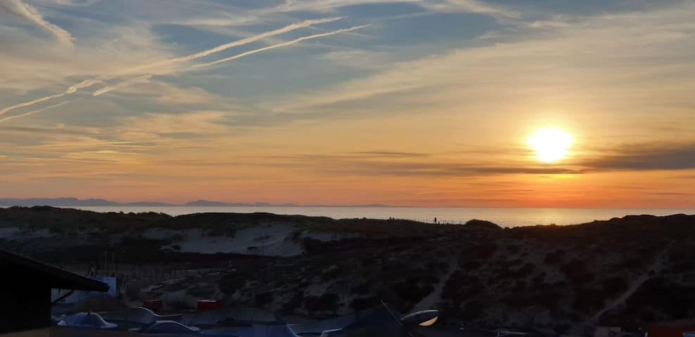 Grand studio Seignosse vue mer et dune.