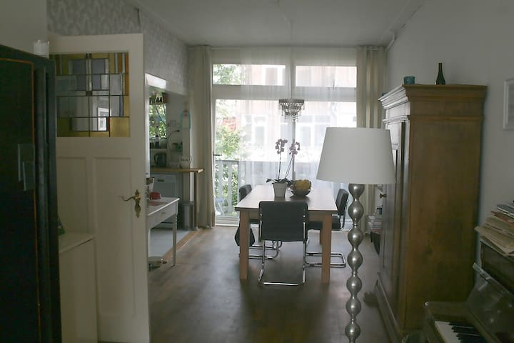 cosy house in quiet area near rotterdam center - Rotterdam - Huis
