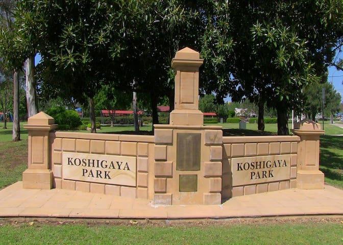 Koshigaya Park.