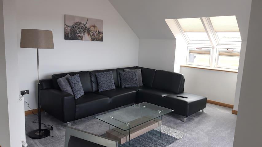 Modern golf view apartment