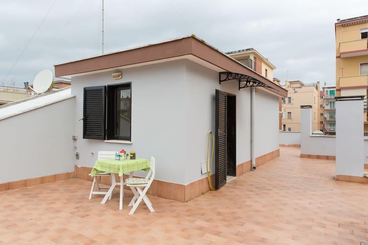 Bright penthouse - Roma