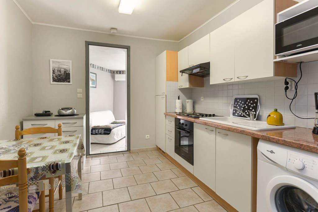 location appartement avignon extra muros avec wifi. Black Bedroom Furniture Sets. Home Design Ideas