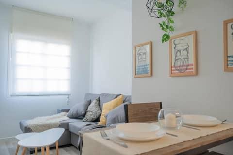 Apartment LA Arboleda 250m from the BEACH. 2/3per