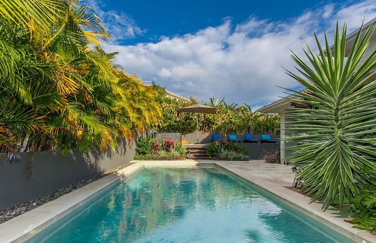 Stunning large home 5 minutes from the beach