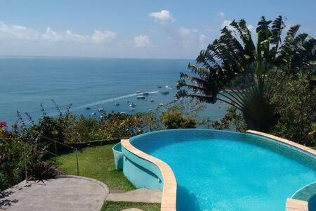 Sun7 Bangalô com varanda para o mar - Cairu