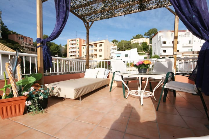 Chill out in romantic terrace - Cala Major