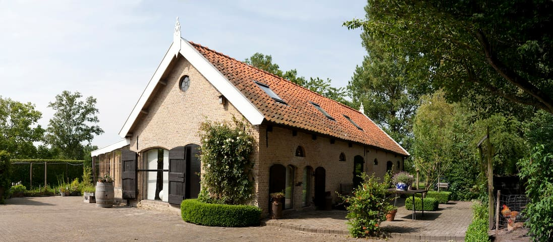 "'t Vaerkenskot (translation = ""The Pigshouse"") - Dreischor - Casa de campo"