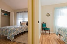 Bedroom 3 featuring comfortable twin bed.
