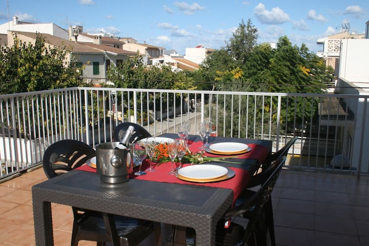 Fantastic apartment 100 meters from the beach