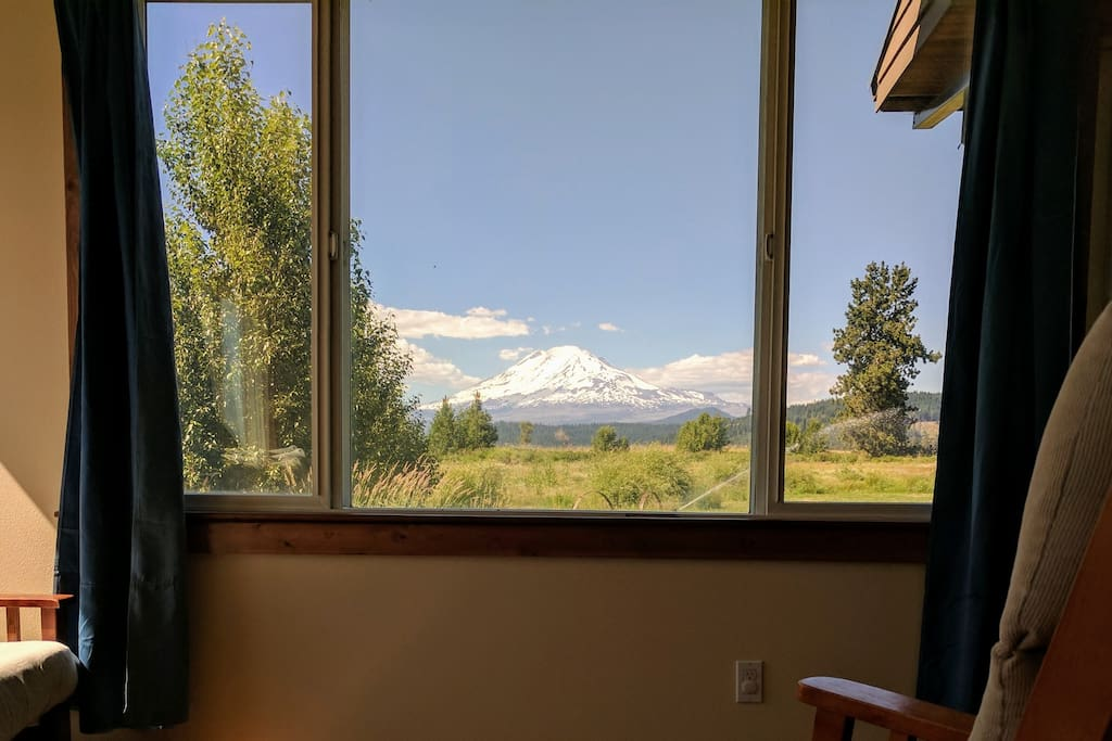 "The View of Mt. Adams from your room. ""Beautiful room and beautiful farm in a beautiful and special place!"" - Scot"