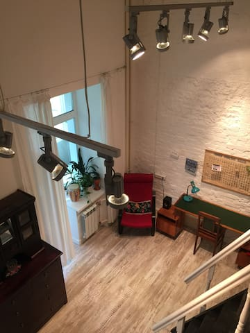 Двухуровневая дизайнерская квартира на Тургенева - Khabarovsk - Appartement