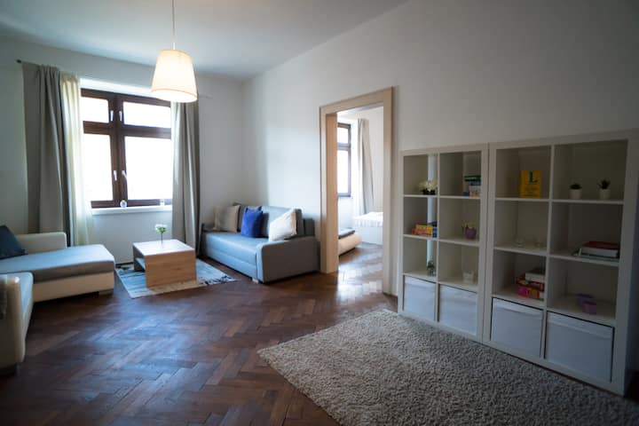 Huge 115m2 apartment  in the heart of the city