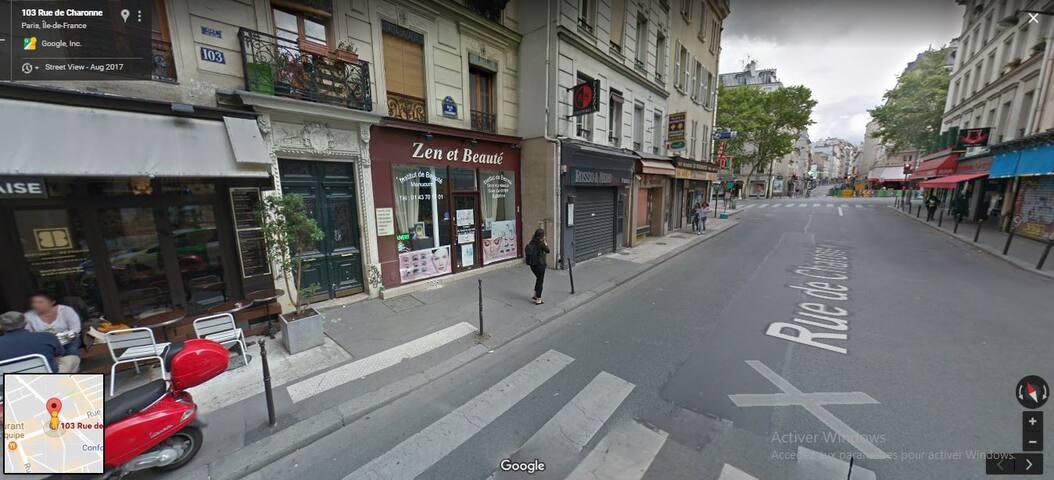 calme Parisien situé au centre de Paris