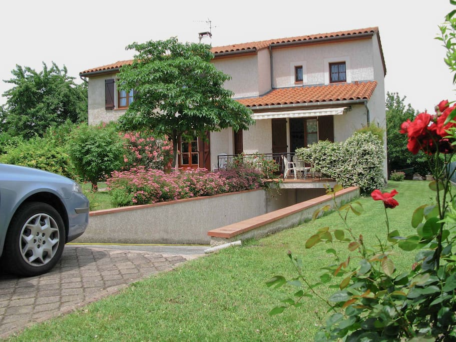 a pied7 mn du centre calme absolu houses for rent in carbonne midi pyrenees france