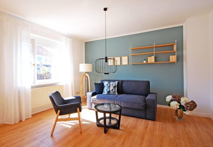 Helle 3-Raum Wohnung in schöner Lage!