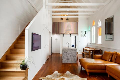 Church House - Townsville home with a twist