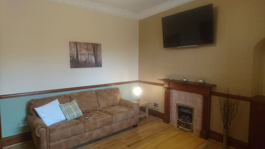 Spacious flat for Golf/holiday let - Carnoustie.