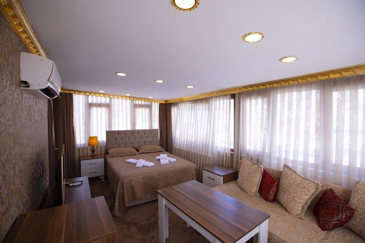 SultanAhmet Pashas Singel Apartment Roof