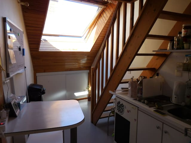 Little Nest in Rennes's heart - near Train station - Rennes - Lejlighed